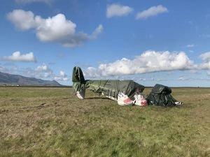 İzlanda'da uçak düştü: 3 ölü