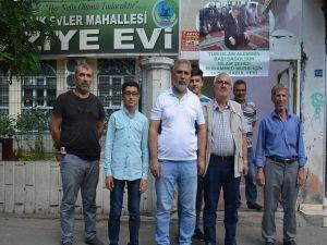 Şehid Mursi için taziye kuruldu