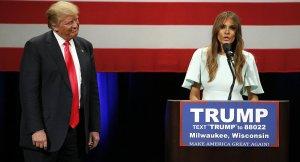 Trump'ın eşi seçmene seslendi Kocamı güçlü yapın