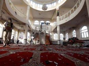 Afganistan'da camiye saldırı düzenlendi