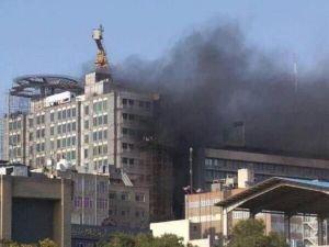 İran Tarım ve Petrol Bakanlıklarında yangın