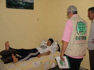 Umut Kervanı hasta gencin umudu oldu
