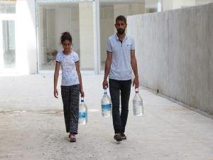 Mardin'deki su kesintileri tepkilere neden oldu