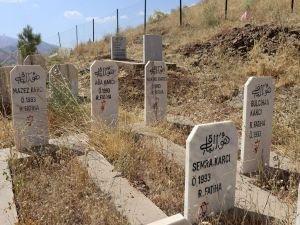 PKK'nın katlettiği anne ve çocuklarının acısı tazeliğini koruyor
