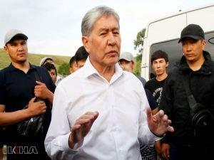 Atambayev'in evine operasyon yarıda kesildi: Bir ölü 45 yaralı