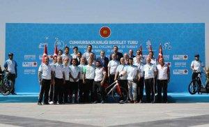 Cumhurbaşkanlığı Bisiklet Turnuvası yapıldı