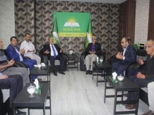 İYİ Parti ve MHP'den HÜDA PAR Diyarbakır İl Başkanlığına ziyaret