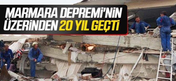 Marmara Depremi 20'nci yılı geride bıraktı