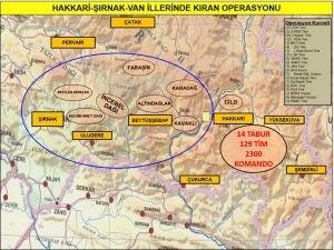 """3 ilde PKK'ya yönelik """"Kıran Operasyonu"""""""