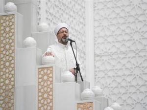 """Erbaş: """"İslam faizin her türünü kesin olarak haram kılmıştır"""""""
