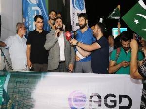 AGD, Keşmir'de yaşananları İstanbul'da protesto etti
