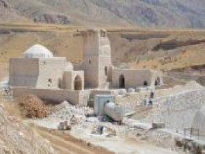 Hasankeyf'teki tarihi eserler bir bir yeni yerlerinde inşa ediliyor