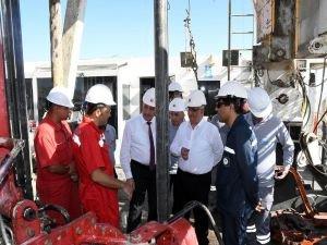 TPAO'nun petrol arama sahalarına inceleme