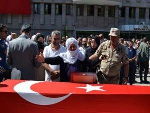 PKK saldırısında hayatını kaybeden 2 Batmanlı için tören