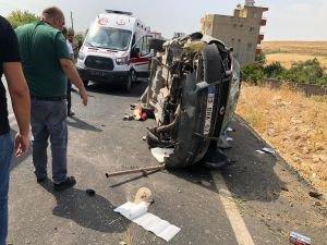 Nusaybin'de trafik kazası: 2'si çocuk 6 yaralı