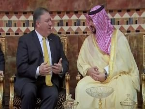 Pompeo saldırılardan sonra Suudi Arabistan'da