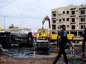 Akaryakıt tankeri patladı: 7ölü 46 yaralı