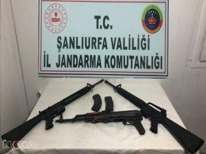 Şanlıurfa'da silah kaçakçılığı operasyonu