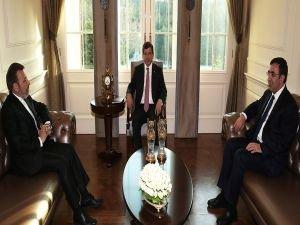 Başbakan Davutoğlu, İran İletişim ve Bilgi Teknolojileri Bakanı'nı kabul etti