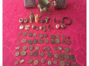 Adıyaman'da tarihi eserler ele geçirildi