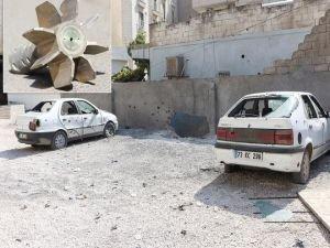Saldırının hedefi olan mahalle savaş alanı gibi
