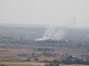 Fırat'ın doğusuna yönelik harekat 5'inci gününde: Tel Abyad kuşatıldı