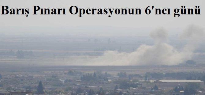 Fırat'ın doğusuna yönelik operasyonun 6'ncı günü