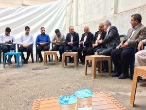 HÜDA PAR'dan Haşimoğlu ailesine taziye ziyareti