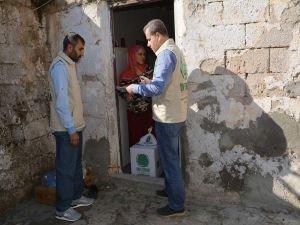 Mevlid Kandili dolayısıyla 200 aileye gıda yardımı ulaştırıldı