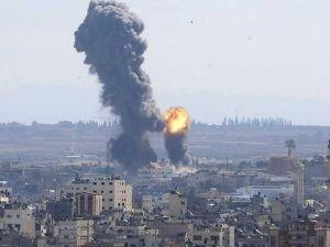 Gazze saldırılarında şehid sayısı 12'ye yükseldi