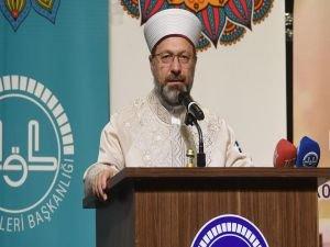 """Erbaş: """"Kutsal kitabımız Kur'an-ı Kerim'e yapılan saygısızlık kabul edilemez"""""""