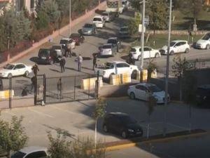 Adliye önünde silahlı kavga: Bir ölü 3 yaralı