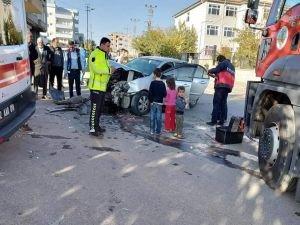Adıyaman'da trafik kazası: 2 kişi yaralandı