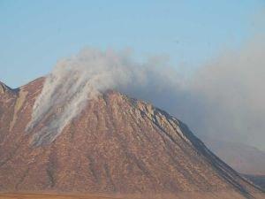 Kirkor Dağı'nda çıkan yangın kontrol altına alındı
