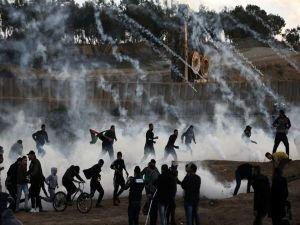 Büyük Dönüş Yürüyüşü gösterilerinde yaralı Filistinlilerin sayısı 37'ye yükseldi