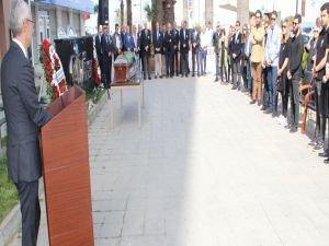 EİB'de Mustafa Özman için tören düzenledi