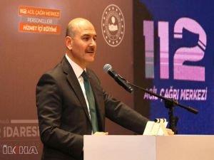 İçişleri Bakanı Soylu: Her 100 çağrının 68'i asılsız