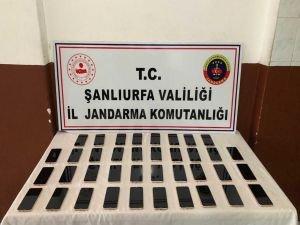 Şanlıurfa'da cep telefonu operasyonu