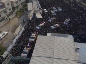 Süleymani için Bağdat'ta cenaze töreni düzenlendi