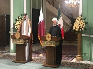 Ruhani: Katar ile ilişkileri geliştirmek için önemli kararlar aldık
