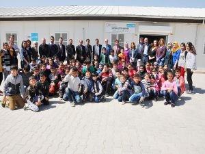 Batman İl Milli Eğitim Müdürü Kurtaran, Suriye Can ve Dost okullarını ziyaret etti