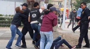 Ankara'da konteyner kent protestosu 10 gözaltı