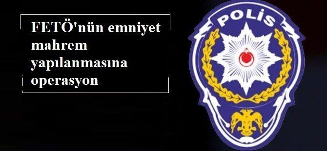 FETÖ'nün emniyetteki mahrem yapılanmasına yönelik operasyon: 40 şüpheli yakalandı