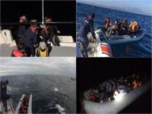Sahil Güvenlik Komutanlığı: Bir hafta içerisinde 523 düzensiz göçmen yakalandı
