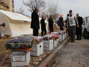 Avrupa Yetim Eli depremzedelerin yaralarını sarıyor