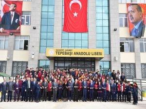 Gaziantep'te 24 derslikli lise eğitim öğretime açıldı
