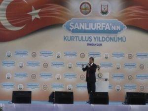 Başbakan Ahmet Davutoğlu Şanlıurfa'da