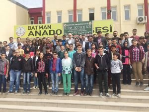 Batman Anadolu Lisesi'nden ortaokullar matematik olimpiyatı