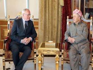 """PDK Başkanı Barzani: """"Kürt halkı Suriye'de belirsizliğe terk edilemez"""""""