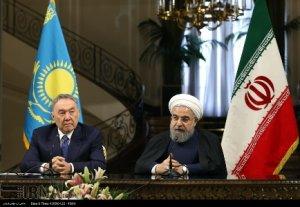Nazarbayev: Ambargoların kalkması İran-Kazakistan ilişkileri artıracak